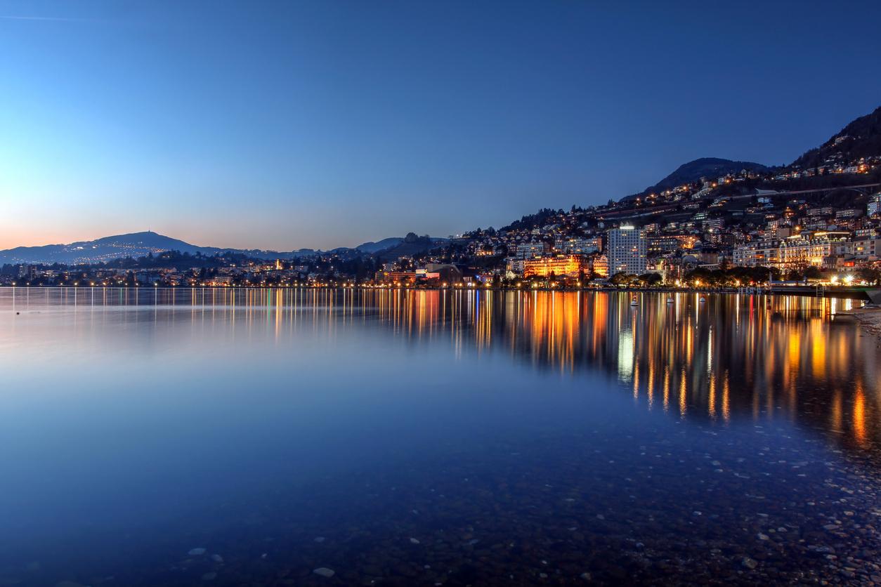 Montreux, lac léman